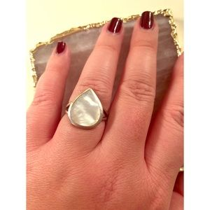 Sterling Silver with Mica Stone